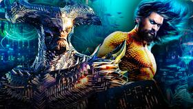 Steppenwolf and Aquaman Justice League}