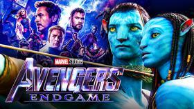 Avengers: Endgame logo, Avatar, Avengers: Endgame poster}