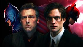 Ben Affleck and Robert Pattinson Batman}