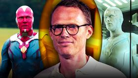 Paul Bettany Vision White Vision}