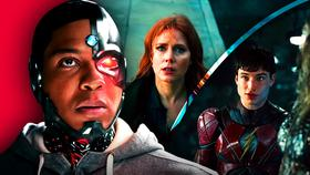 Cyborg, Lois Lane, The Flash in Justice League}