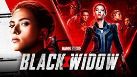 Black Widow poster background}