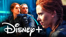 Black Widow Disney+}
