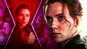 Black Widow Scarlett Johansson}