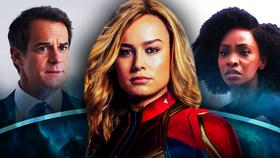 Director Hayward, Captain Marvel, Monica Rambeau}