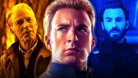 Old Steve Rogers, Steve Rogers, Captain America}