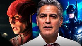 George Clooney, Batman, Flash}