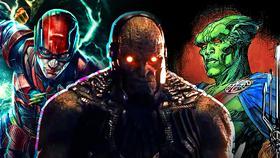 Darkseid Flash Martian Manhunter}