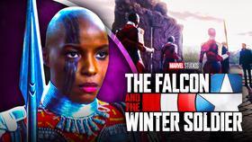 Falcon and Winter Soldier's Janeshia Adams-Ginyard Dora Milaje}