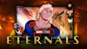 Eternals from comics}