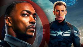 Falcon, Steve Rogers, Captain America, The Winter Soldier}