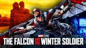 Falcon Flying The Falcon and the Winter Soldier}