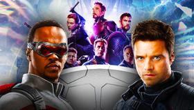 Falcon and Winter Soldier under Avengers Endgame}