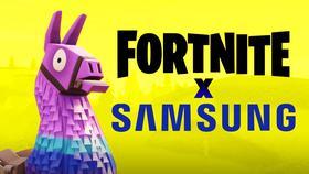 Fortnite X Samsung Partnership}