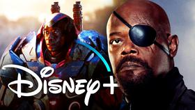 War Machine, Nick Fury, Disney+}