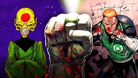 Green Lantern Ring, Dominators, Guy Gardner}