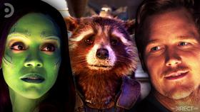 Gamora, Rocket, and Peter Quill}