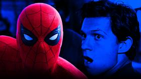 Tom Holland as Spider-Man}