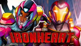 Ironheart Marvel Logo}