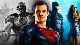 Justice League, Superman, Batman, Wonder Woman, DeSaad}