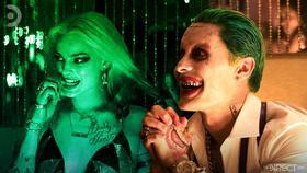 Harley Quinn and Joker}