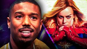 Michael B Jordan Captain Marvel}