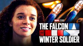 Karli Falcon and Winter Soldier logo}