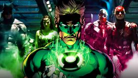 Green Lantern and Justice League}