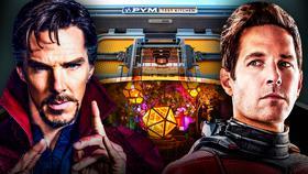 Doctor Strange Ant-Man}