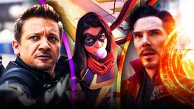 Doctor Strange, Hawkeye, and Ms Marvel}