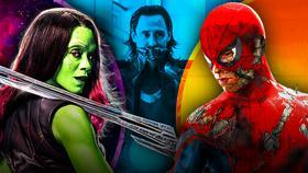 Gamora, Loki, Spider-Man}