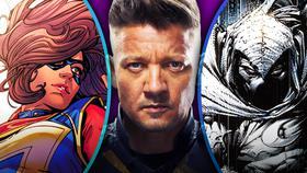 Ms. Marvel, Hawkeye, Moon Knight}