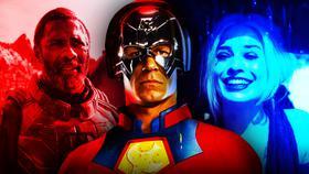John Cena Peacemaker Harley Quinn Bloodsport}