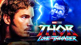Peter Quill, Star Lord, Thor, Thor: Love and Thunder logo}
