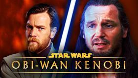 Qui-Gon Ginn and Obi-Wan Kenobi}