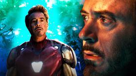 Robert Downey Jr as Tony Stark in Avengers: Endgame}