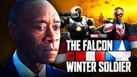 Don Cheadle War Machine Falcon and Winter Soldier}