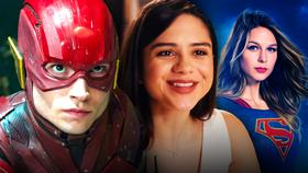 Supergirl, The Flash, Sasha Calle}