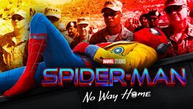 Spider-Man No Way Home logo, military}
