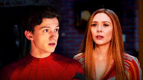 Spider-Man and Scarlet Witch}