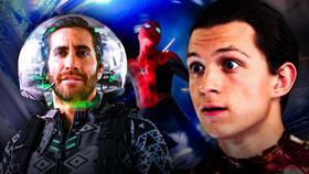 Mysterio CGI Suit Spider-Man Maskless}