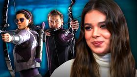 Kate Bishop, Hawkeye, Hailee Steinfeld}