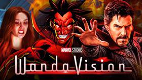 Wanda Maximoff, Mephisto, Doctor Strange}