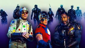 The Suicide Squad Polka-Dot Man Bloodshot Peacemaker}