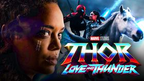 Valkyrie Tessa Thompson Horse Avengers Endgame}