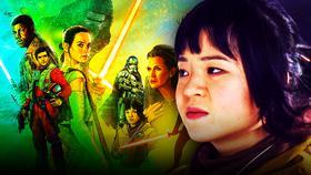 Kelly Marie Tran Star Wars Rose Poster}