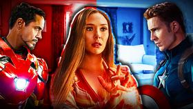 Wanda Maximoff, Captain America, Iron Man}