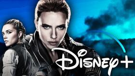 Black Widow, Yelena Belova, Disney Plus Logo}