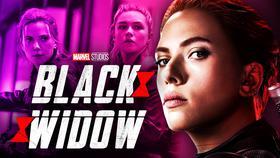Black Widow logo, Natasha Romanoff, Yelena Belova}