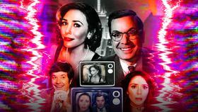WandaVision, Jimmy Fallon, Elizabeth Olsen Poster}